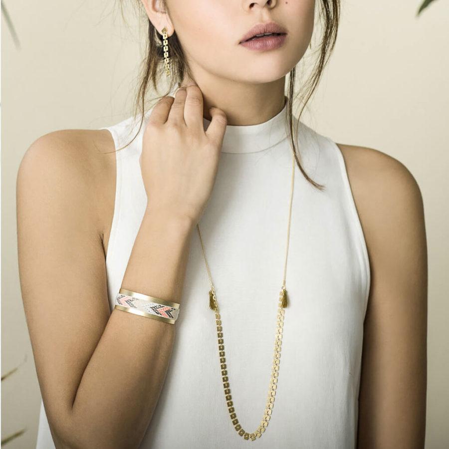 bracelet manchette boa shlomit ofir 3