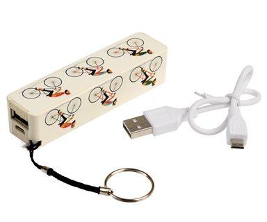Chargeur portable usb vintage