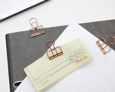 Set de 6 wire clips