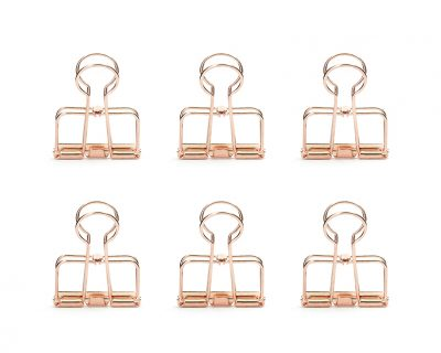 Set de 6 wire clips