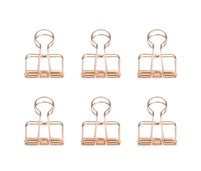 OR73-CO-COPPER WIRE CLIPS-SET OF 6