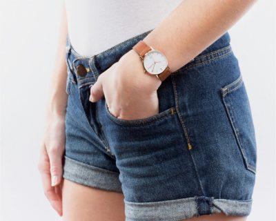 Montre Audacieuse bracelet cuir