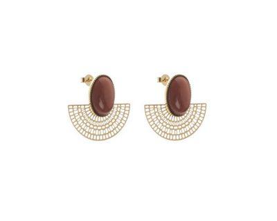 Boucles d'oreilles Aztèques