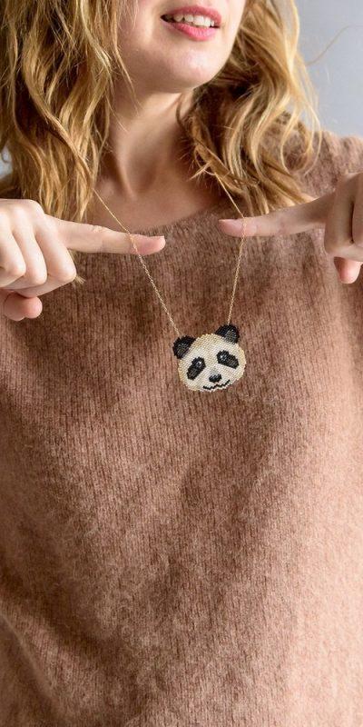 Kit collier Panda