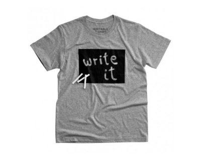 Tee-shirt à écrire