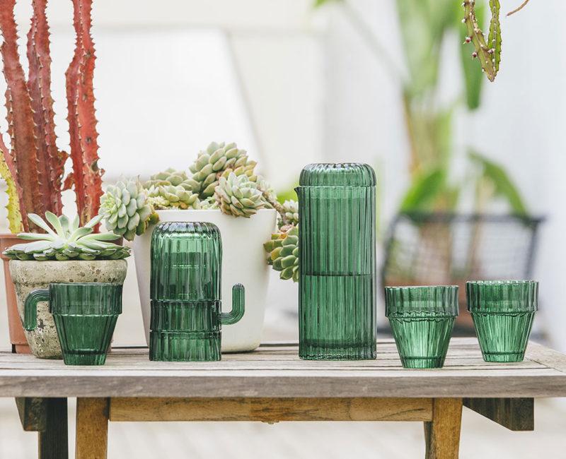 Set de verres cactus DOIY