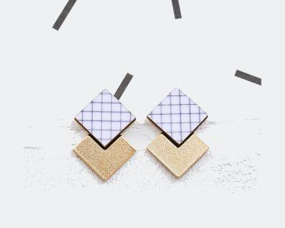 Boucles d'oreilles Prisma
