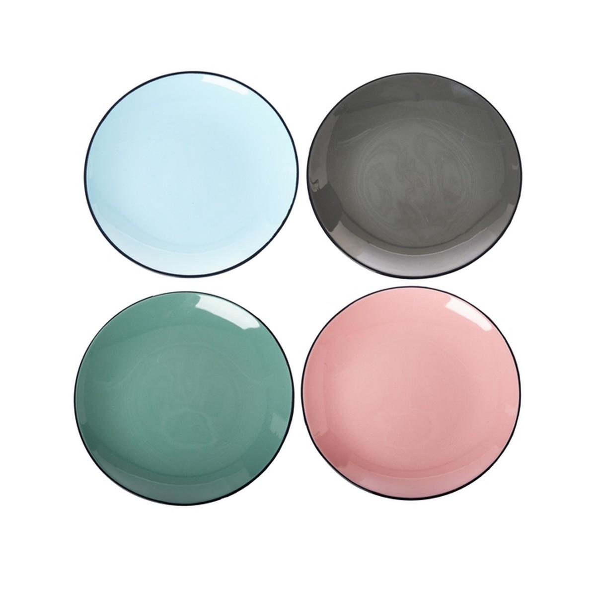 set d 39 assiettes pastel made by moi. Black Bedroom Furniture Sets. Home Design Ideas