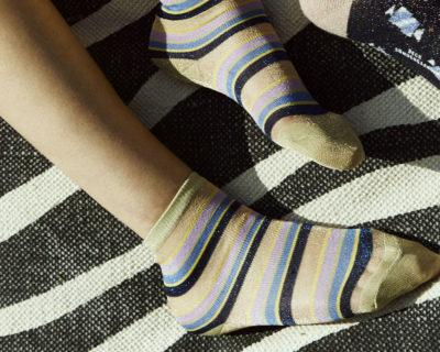 Chaussettes Dagmar multi stripes