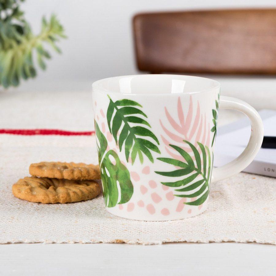 lot de deux mugs à café fleuris rex international 3