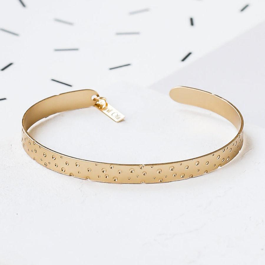 bracelet jonc dots shlomit ofir 1
