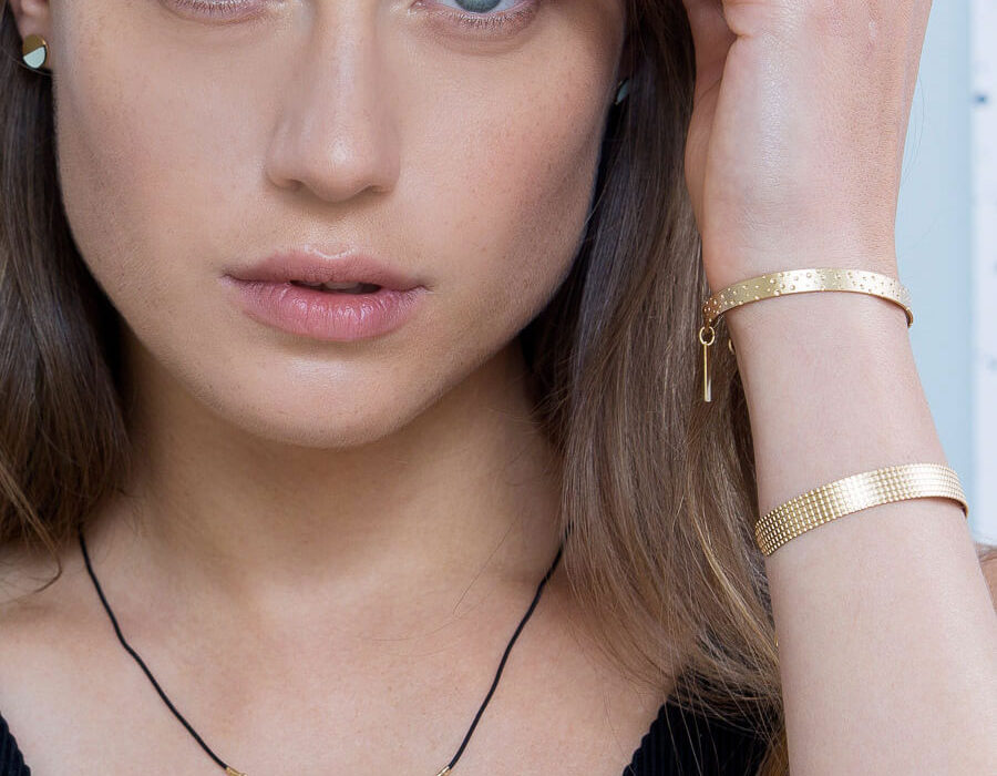 bracelet jonc dots shlomit ofir 2