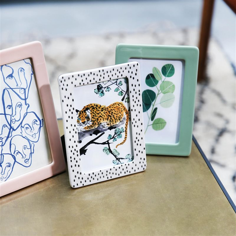 cadre photo en ceramique &klevering