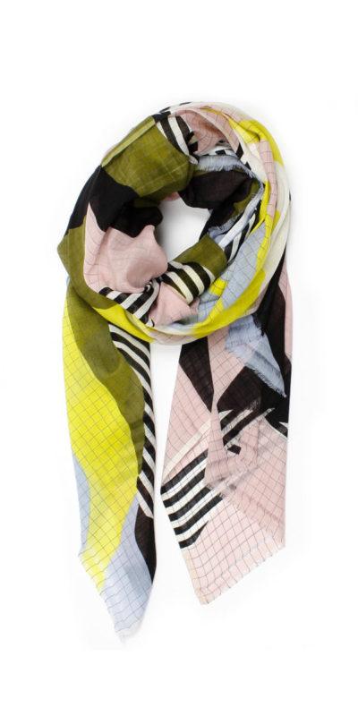 foulard sable citrine ma poesie