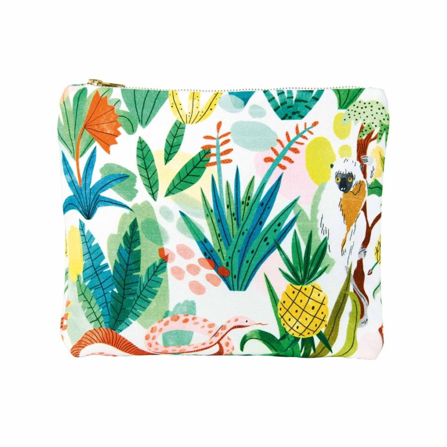 pochette en coton jungle &klevering