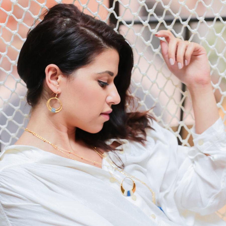 Boucles d'oreilles Hania Amelys