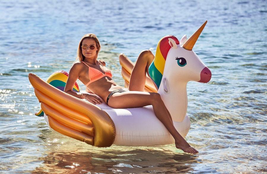 Bouée licorne XXL Sunnylife