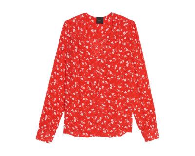 Chemise Liberté rouge Idano