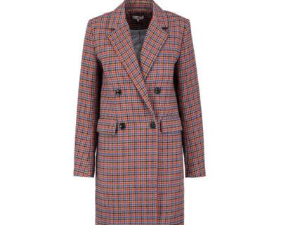 Manteau à carreaux Micol