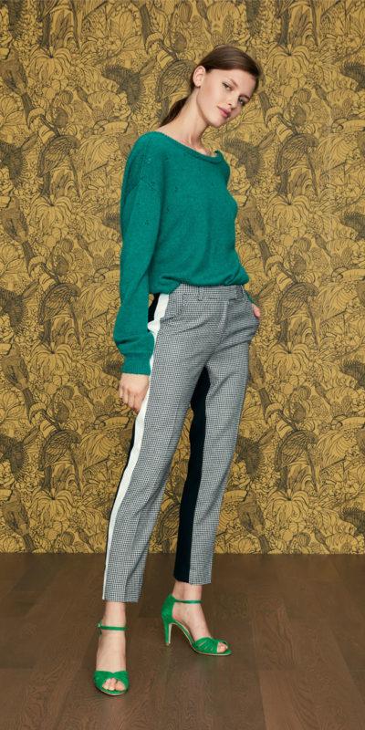 Pantalon Butternut pied de poule