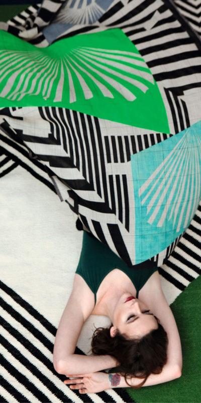 écharpe foulard ginkgo mapoesie
