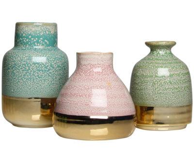 set de trois vases &k