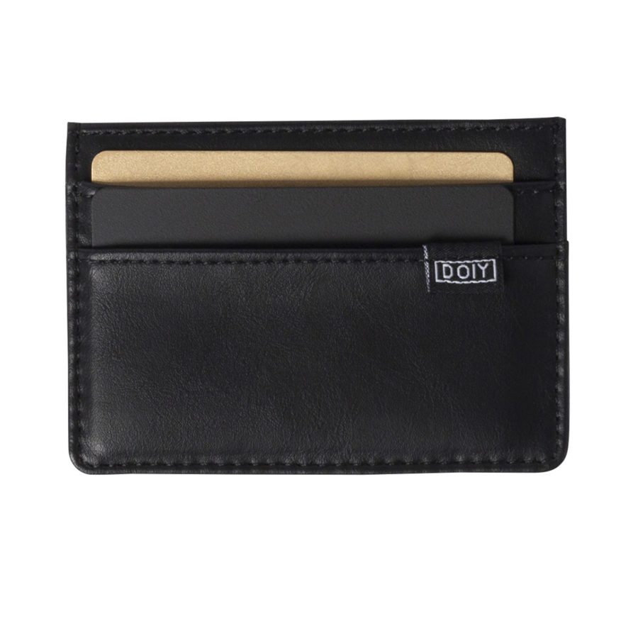 card wallet black doiy 2