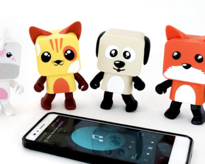 Enceinte Dancing Animals
