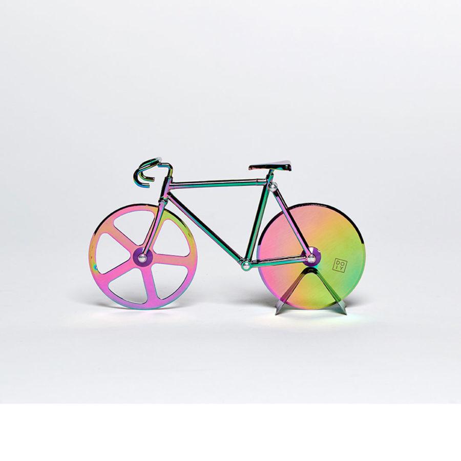coupe pizza vélo iridescent fixie DOIY