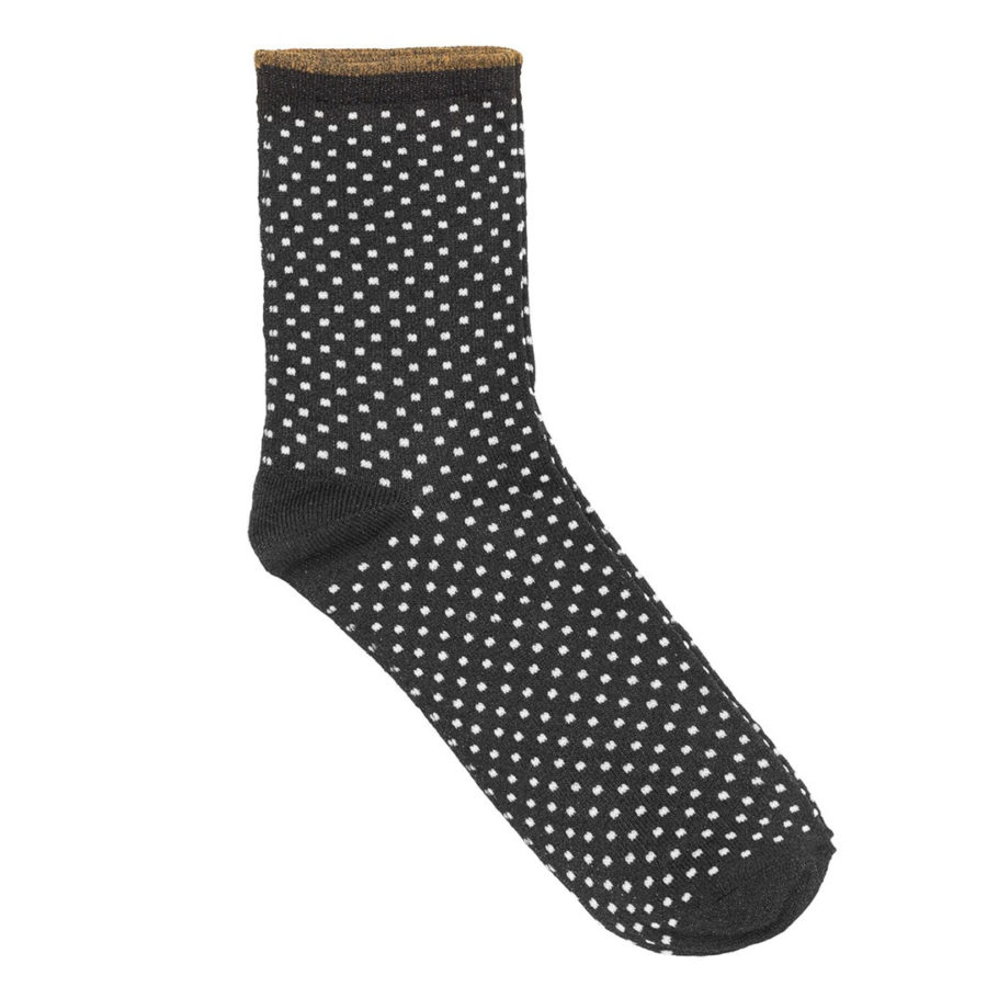 Dina small dots noires et blanches