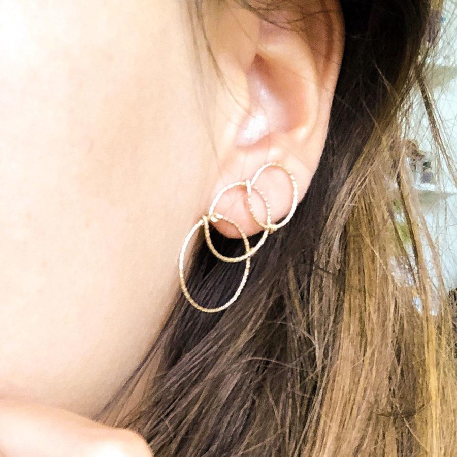 boucles d'oreille yay