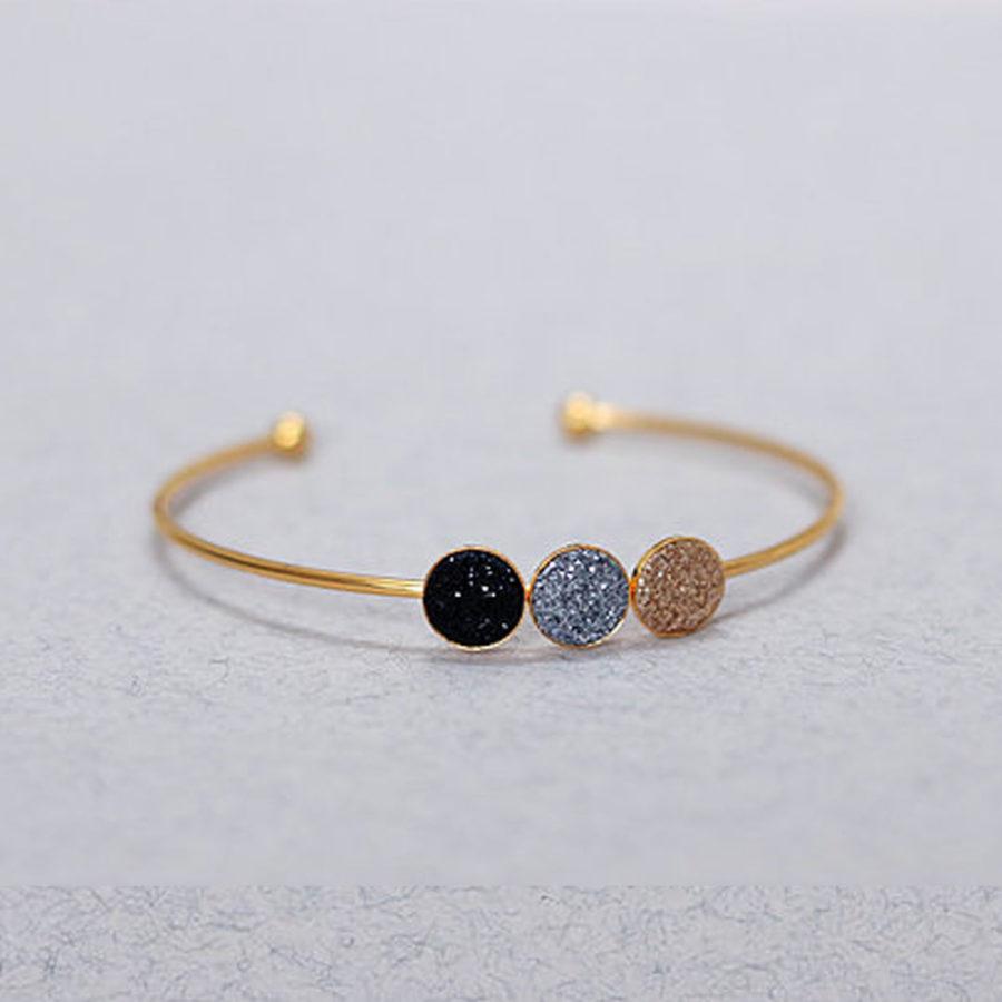 bracelet trio glitter fosseth