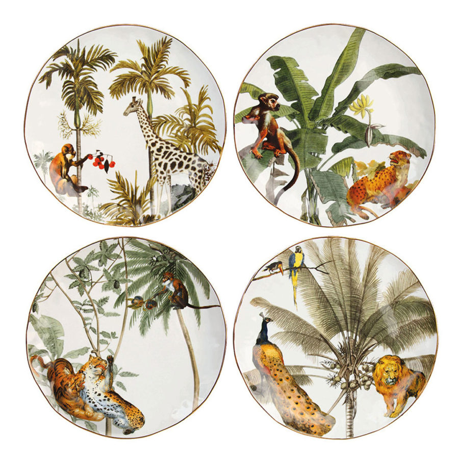 jungle assiettes &klevering