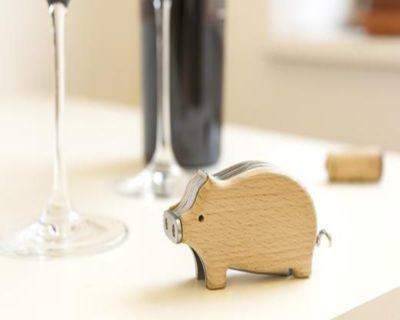 Tire-bouchon cochon