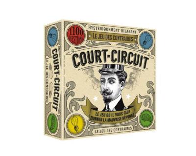 Jeu de société famille Court Circuit
