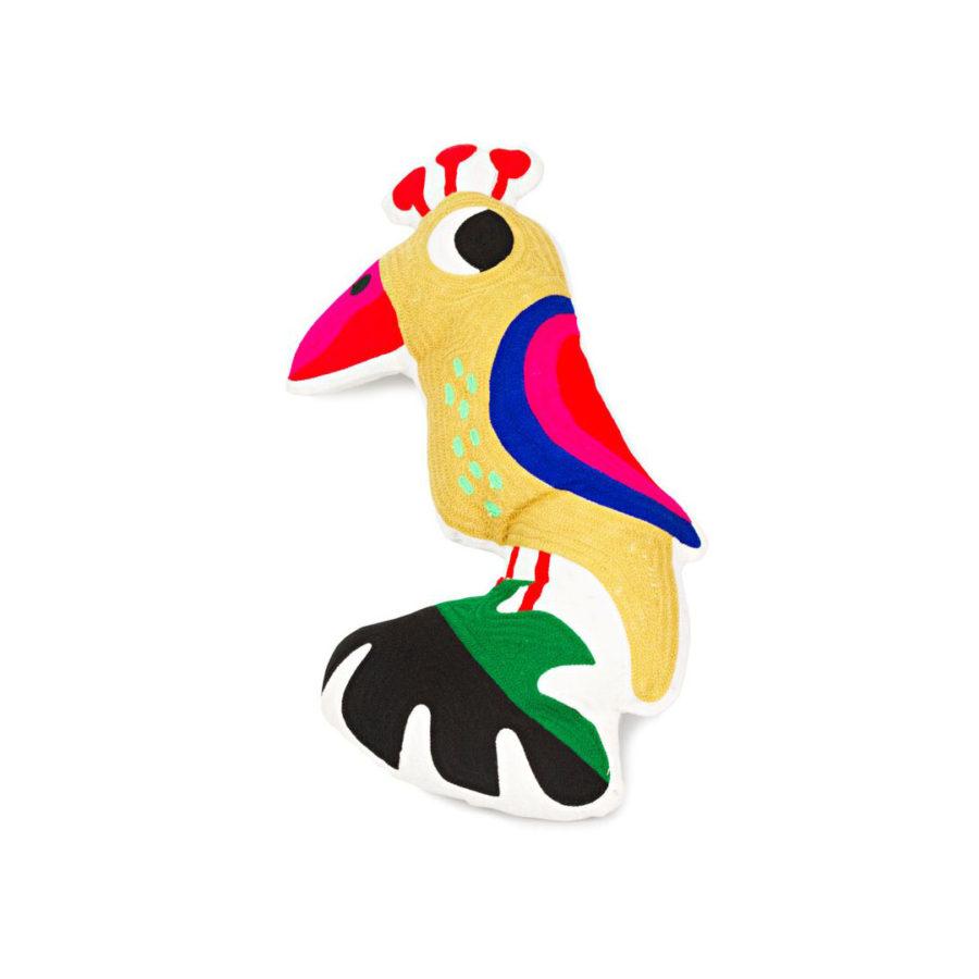 coussin perroquet kitsch kitchen