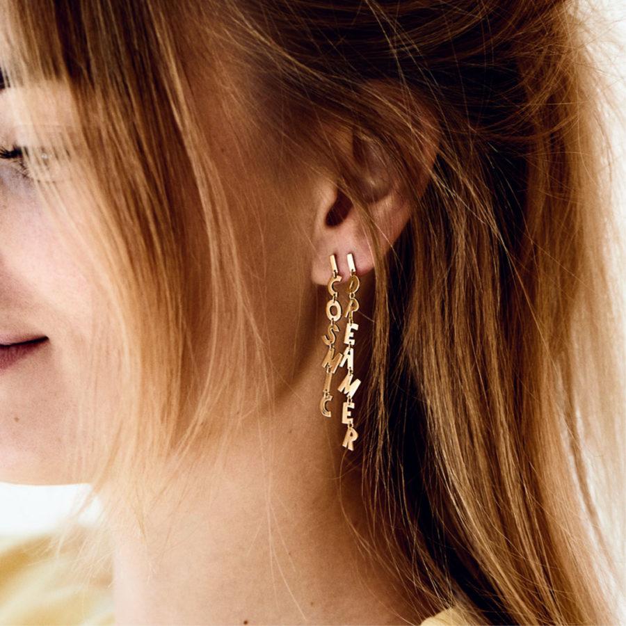 boucles d'oreilles cosmic dreamer anna + nina