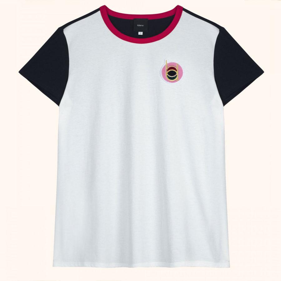 t-shirt Clafoutis Idano