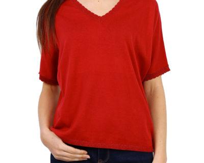 T-shirt Framboise Season
