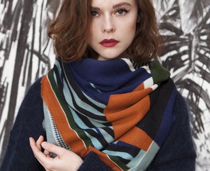 foulard écharpe corolle mapoesie