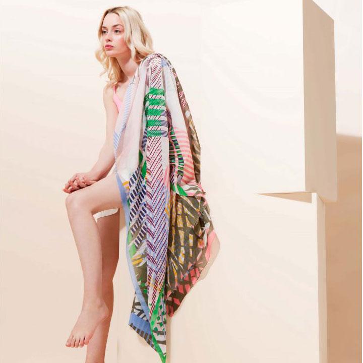 foulard sauvage mapoésie