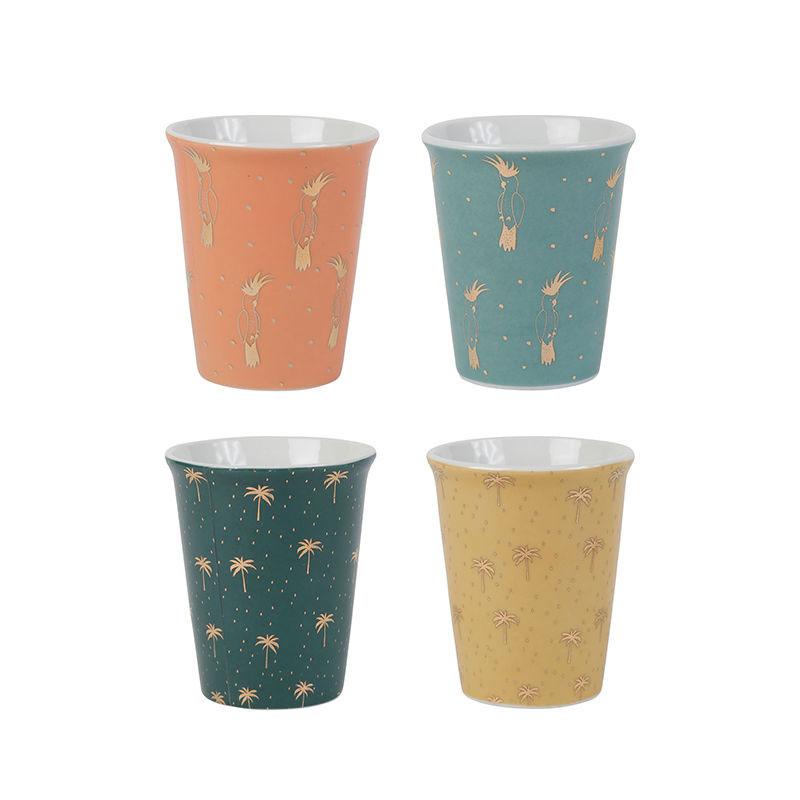 set de 4 cups cocodelice sema design