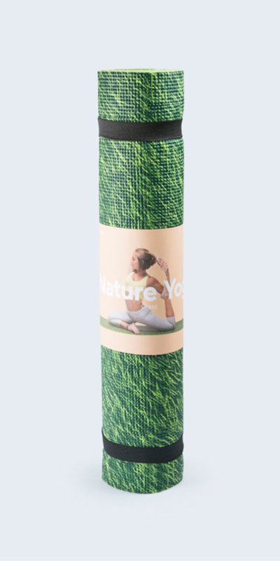 tapis de yoga herbe fraiche doiy