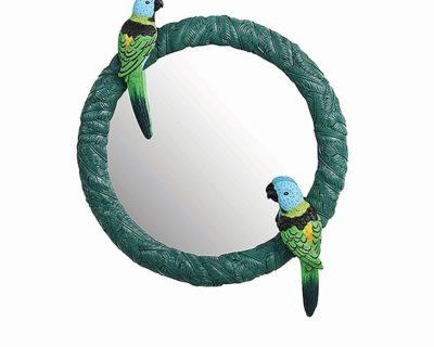 miroir canari vert &klevering