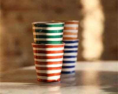set de 4 mugs casablanca &klevering