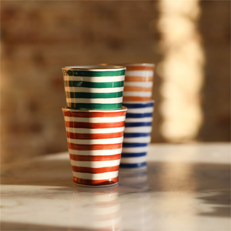 set de 4 mugs casablanca &klevering