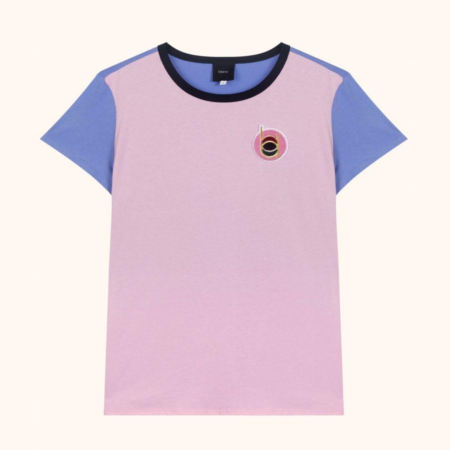 t shirt clafoutis rose idano