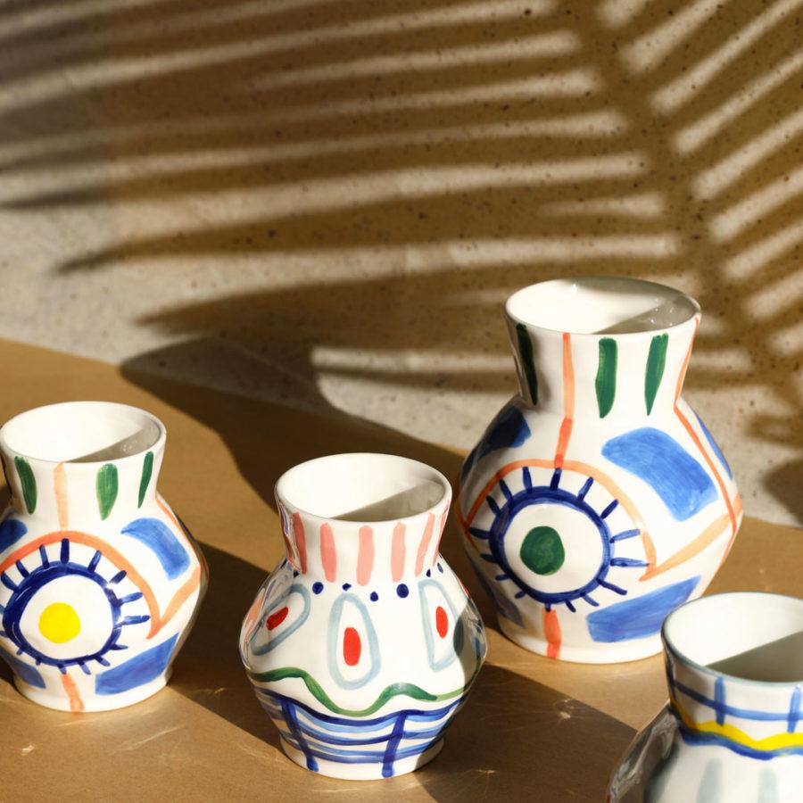 Vase Asir &Klevering