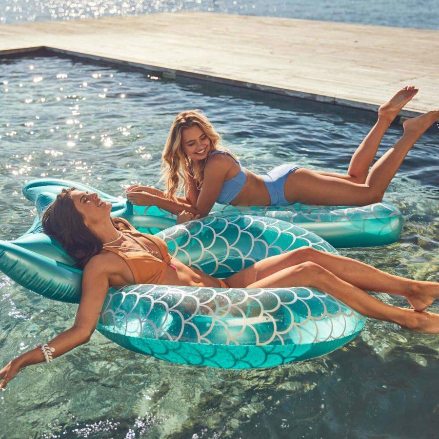 matelas gonflable sirène sunnylife