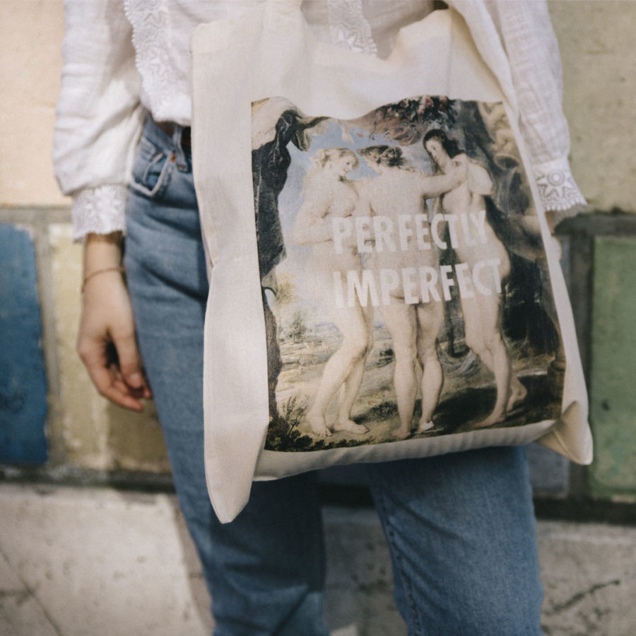 tote bag le chat anonyme